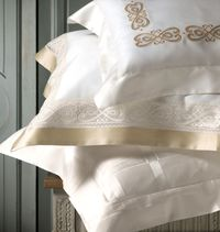 Gianna Embroidery Bedding by Dea Linens $398.00