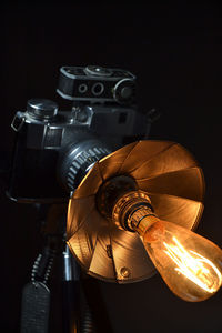 The 'Bencini Comet Hyper Flash' Table lamp/Desk lamp  The ideal 1950s camera light for your '50s themed room.