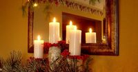 Jesus told us that he is the Light that has come. At Christmas we celebrate Jesus coming and being our light.