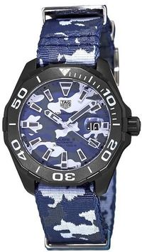 TAG HEUER AQUARACER CALIBRE 5 NATO TITANIUM MEN'S WATCH $2708.00