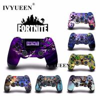 IVYUEEN NEW Fortnite Battle Royale Skin For Dualshock 4 PS4 PRO Slim Controller Game Sticker Decal Cover for Play Station 4 $4.82