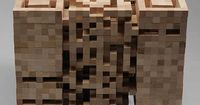 Wooden QR Code Sculpture » Design You Trust