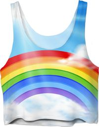 ROCT Rainbow Women's Crop Top $37.00