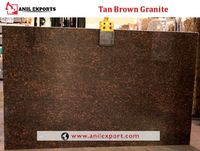 Tan Brown Granite Exporter in India Anil Exports Supplier http://www.anilexport.com/product/tan-brown-granite-exporter-in-india/  Tan Brown granite features dark brown, black and grey flecks. This durable natural granite works well in a variety of inte...
