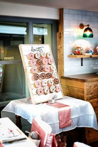 Rustic Donut Wall, Donut Wall Wedding, Donut Wall Stand, Framed Donut Wall, Dessert Display, table top donut wall, SHIPS FREE £99.99