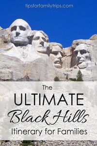 The Black Hills of South Dakota is an outstanding choice for a family vacation because there is so much to do! A 7-day Black Hills itinerary for families.