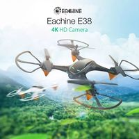 Eachine E38 WiFi FPV with 1080P/4K HD Camera Altitude Hold Mode 12mins Flight Time RC Drone Quadcopter RTF