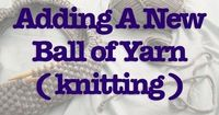 �–� Joining a new yarn - YouTube
