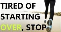 Stop Starting over