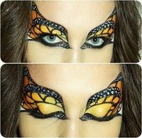 #MakeupTips So scary #CatEye for #HalloweenDay #makeup. Try this #EyeMakeup design on this 31st October party of Halloween theme. Stay here for more ideas.
