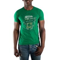 Let's Get Ready To Stumble Drinking Men's Green T-Shirt Tee Shirt $0.00 https://www.nurdtyme.com
