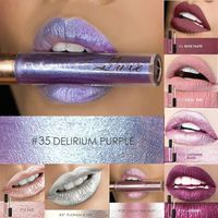 Focallure Metal Lipstick Shimmer Glitter Lip Gloss Metallic Matte Liquid Lips Makeup Waterproof Sexy Lipstick Cosmetics $16.0