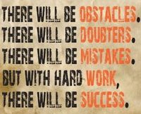 THERE WILL BE SUCCESS