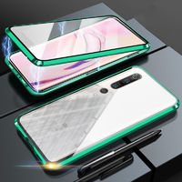 Bakeey 360º Curved Magnetic Flip Double-sided 9H Tempered Glass Metal Full Body Protective Case for Xiaomi Mi 10 / Xiaomi Mi 10 Pro
