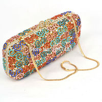 Women Hollow Out Evening Clutch Bag / Circle wing shape $146.25