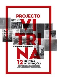 PROJECTO VITRINA - Poster by joão fonseca, via Behance