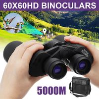 60x60 HD 5000M Long Range Telescope Night-Vision High Definition Waterproof Outdoor Telescope