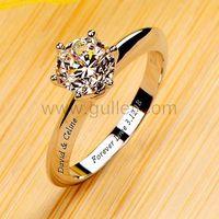 1 Carat Diamond Engagement Platinum Ring for Her  https://www.gullei.com/1-carat-nscd-diamond-platinum-bridal-wedding-ring.html