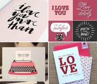 Free, printable Valentine's Day cards