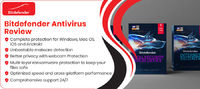 Get complete Bitdefender Antivirus Free Review that will help you to know more about free Bitdefender Antivirus Free.  Visit - https://www.topbrandscompare.com/brand-antivirus/bitdefender-antivirus-review/