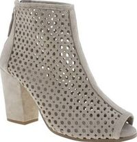 Schuh Beige Hijack Womens Boots If theres a boot thats going to Hijack your wardrobe this season, make sure its this beauty from schuh. The beige suede shoe boot features a peep-toe design with delicate cut-out detailing and sits pe http://www.comparestor...