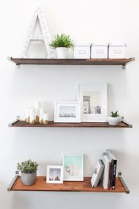 10 Must-Have IKEA Finds I Want to Own- Ikea shelves with distressed finish $6.