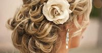 Such a romantic up-do! --wish I had enough hair to do this--