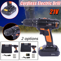 21V Electric Cordless Drill Drive Impac Screwdriver Rechargeable Lithium Battery