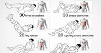 The Five-Minute Flat-Abs Workout: Four exercises to sculpt a sexy stomach blog.womenshealth...