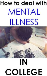 College isn't the easiest time, especially if you're dealing with a mental illness not many people know of on the side. Here is how to deal with it!