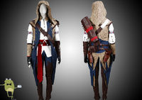 Assassin's Creed Connor Kenway Cosplay Costume for Sale