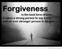 Awesome forgiveness quote