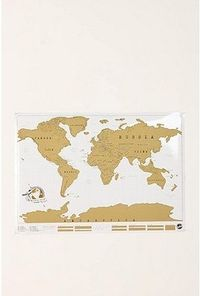 Scratch Off World Map Online Only 34.00 you scratch off where you've been