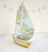 Sail with directions