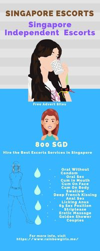 Singapore is a large area for business and speculation; there are dependably shows, expos and such being held. You will be hiring the best escorts services after completing your work for removing your tiredness. So If you want to proper body massage or an...