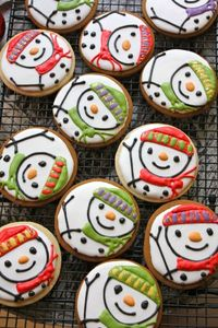 For our cookie decorating party