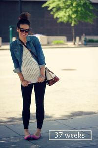 very cute maternity style