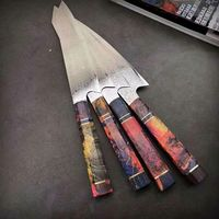Chef Knife 8 inch Professional Kitchen Knives Stainless Steel Cooking Tools Wood Handle $127.80