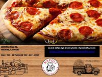 Contact Napoli in Vacaville for best quality PIZZA , PASTAS,SANDWICHES, DESSERTS and many more services. Click on link below  https://napolipizzavacaville.com/ Call: (707) 446-8400  707- 44 PIZZA