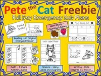 Pete the Cat Printables | Pete the Cat