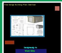 free garage building plans download