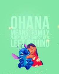 my fave movie with a little girl that reminds me of my own....and all the things i love... ohana and hawaii.