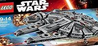 Lego Star Wars: Millennium Falcon (75105) 75105 One of the most iconic starships of the Star Wars saga is back, and itrsquo;s leaner and meaner than ever before! As featured in exciting scenes from Star Wars: The Force Awakens, this latest LEGOre ...