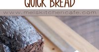 Quick breads should be simple and no-fuss and this decadent chocolate quick bread proves that theory correct! Soft and moist, it is pure chocolate heaven!