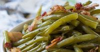 Southern Style Green BeansHere is a green bean recipe that everyone will enjoy. The trick is slow cooking. Thi
