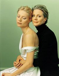 Gwyneth and Blythe - My daughter and I did our own version of this portrait for her wedding.