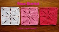 A Land Close By: Rose Blanket pattern, part 1