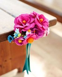 crepe paper flowers, paper flower bouquets and crepe paper.
