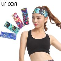 Sports Elastic Headbands - Yoga Fitness Women Stretch Head Wrap $12.99