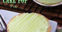 March 143.14Pi DayIn Celebration of Pi Day, I made some Key Lime CAKE POP Pie.I used the new Key Lime Cake and Frosting from Pillsbury and put the cake pop batt